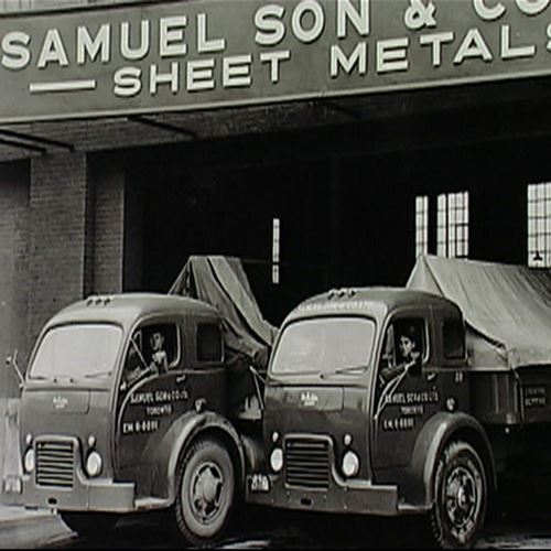 M and L Samuel storefront in 1931