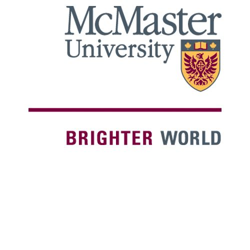 McMaster University logo and tagline