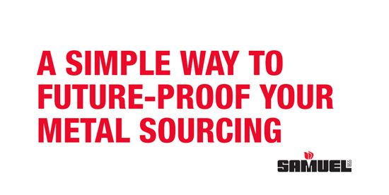 A simple way to future-proof your metal sourcing